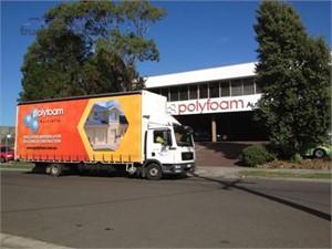 Polyfoam Australia P/L expands its fleet of MANs with new rigid model