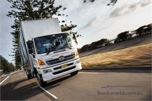 New Hino helps keep the show on the road
