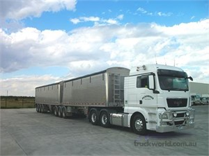 MAN TGX B Double delivering outstanding fuel economy for Pickerings Bulk Haulage
