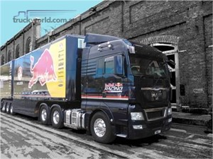 MAN continues relationship with Triple Eight Race Engineering and new team sponsor Red Bull Racing Australia.