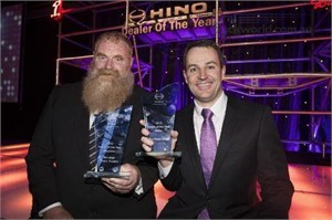 Top achievers go back to back at Hino Dealer of the year awards