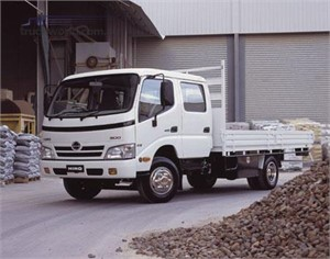 HINO is Australia's fastest growing TRUCK brand