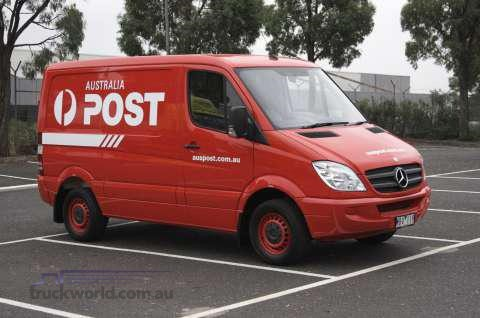 1d392656b5 Mercedes-Benz to Supply Australia Post with Mail Delivery Vans News