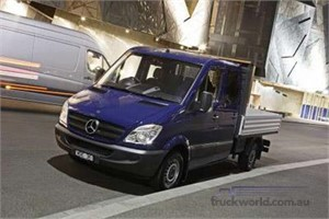 New Models and Features for 2008 Mercedes-Benz Vans