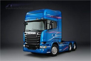 Scania Blue Stream goes with the flow