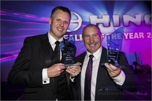 Hino announces top dealers of 2013