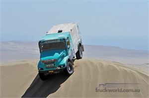 Iveco celebrates at Dakar with top 10 placings
