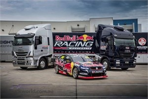 Iveco Stralis the transporter of choice for Red Bull Racing Australia
