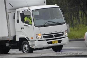 Fuso Fighter launched at the Melbourne Truck and Trailer show