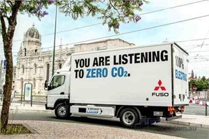 Fuso Canter ECELL trial results show real world savings