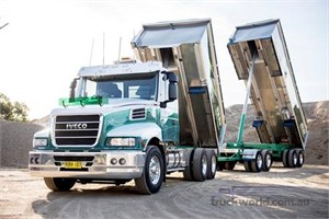New Iveco 7200 a lure for young driver