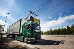 Scania charges up Electric Avenue