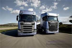 Scania introduces new truck range
