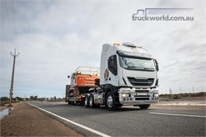 Heavy haulage chieftain welcomes new Iveco