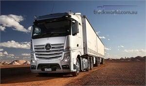 Mercedes Benz launches next generation truck in Australia