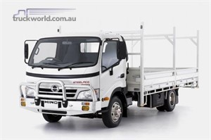 SAT NAV with Hino Steel Ace and Trade Ace