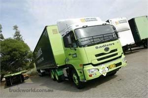 Sadleirs' green fleet adds a truly green UD
