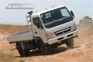 The New Fuso Canter 4X4 Is Here!