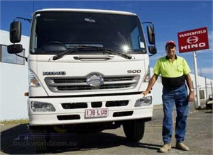 Hire company says Hino is a smart tip