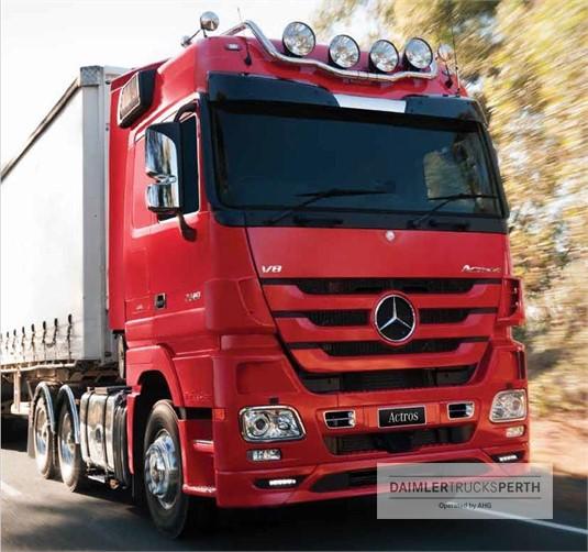 Mercedes Benz Actros 32XX 8x4 Rigid Air