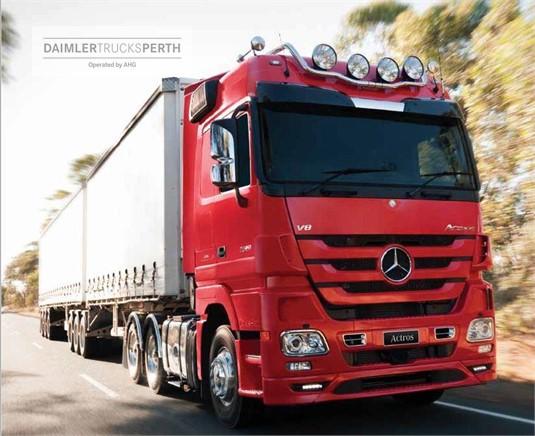Mercedes Benz Actros 41XX 8x8 Rigid
