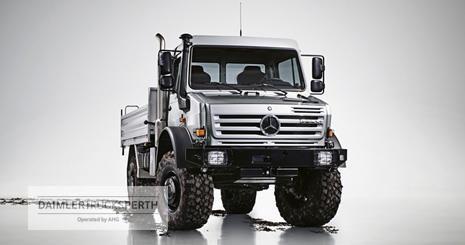 Mercedes Benz U4000 Swb