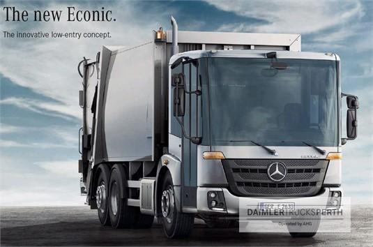Mercedes Benz Econic 2635 LL 6x4