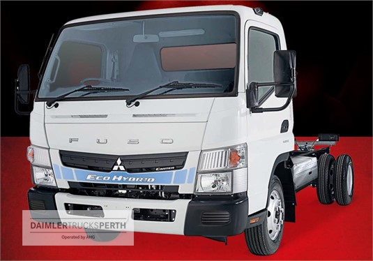 Fuso Canter Eco Hybrid Wide Cab MWB