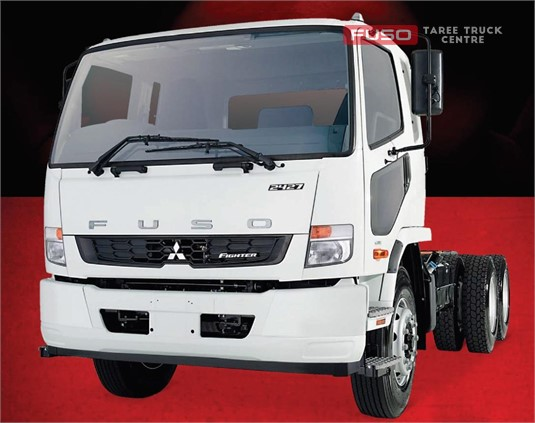 Fuso Fighter FN 2427 6x2 and 6x4