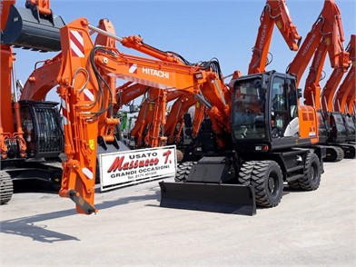 HITACHI Wheel Excavators For Sale - 50 Listings | MachineryTrader co