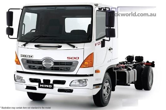 Hino 500 Series FG 1628 Auto Crew