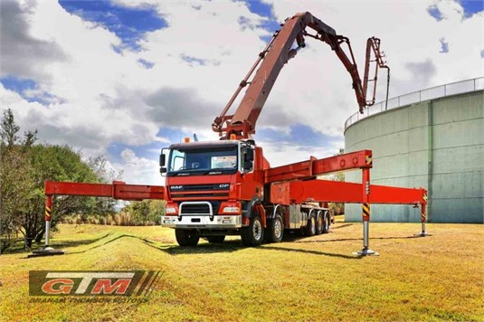 DAF FAD CF85 8x4 Rigid Hub Reduction Concrete Pumper