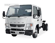 Fuso Canter 815 Wide Crew Cab LWB AMT