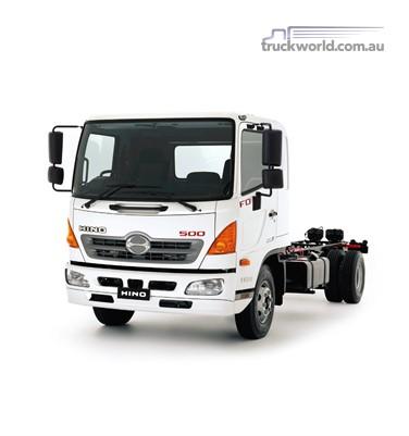 Hino 500 Series FD 1124 ProShift 6 Medium