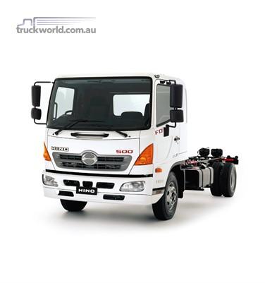 Hino 500 Series FD 1124 ProShift 6 XLong Air