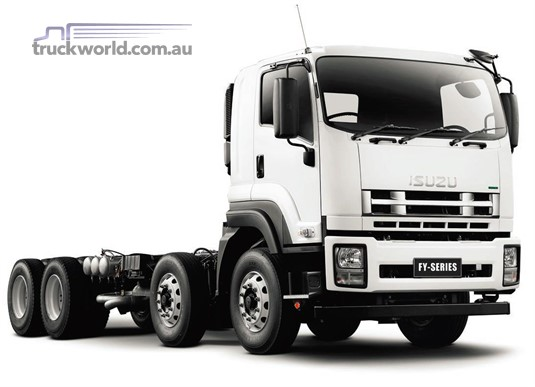 New Isuzu FYJ 300-350 LWB Trucks For Sale - specifications and