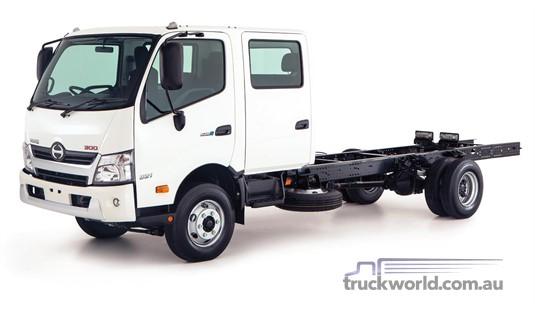 Hino 300 Series 921 Crew Auto XXLong