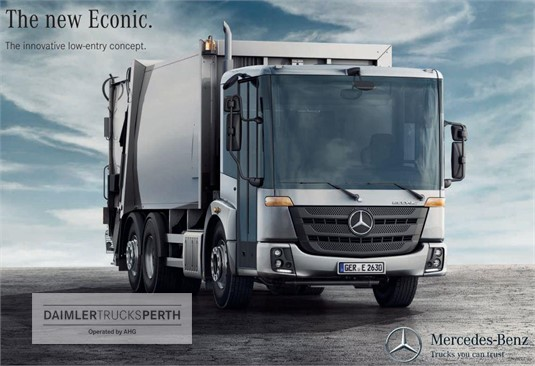 Mercedes Benz Econic 2630 LL 6x2/4 VLA