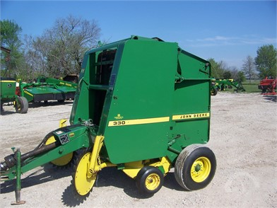 JOHN DEERE Round Balers Auction Results - 620 Listings | AuctionTime