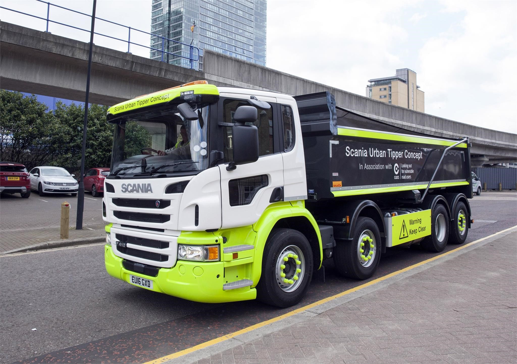 Scania Introduces Safe New Tipper Truck | Truck Locator Blog
