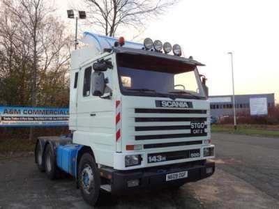Scania 3 Series - A 143 500 6x4