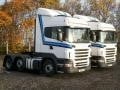 Pair of R Series Scania Tractor Units from 2011