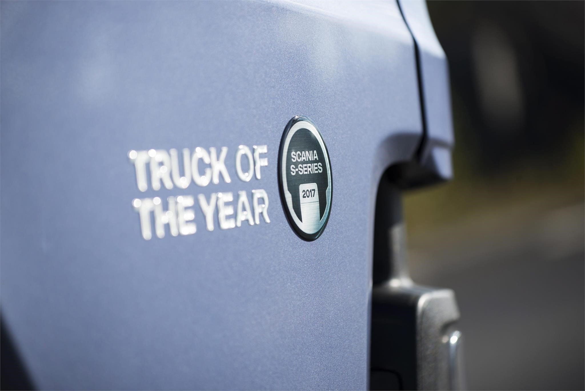 scania truck of the year