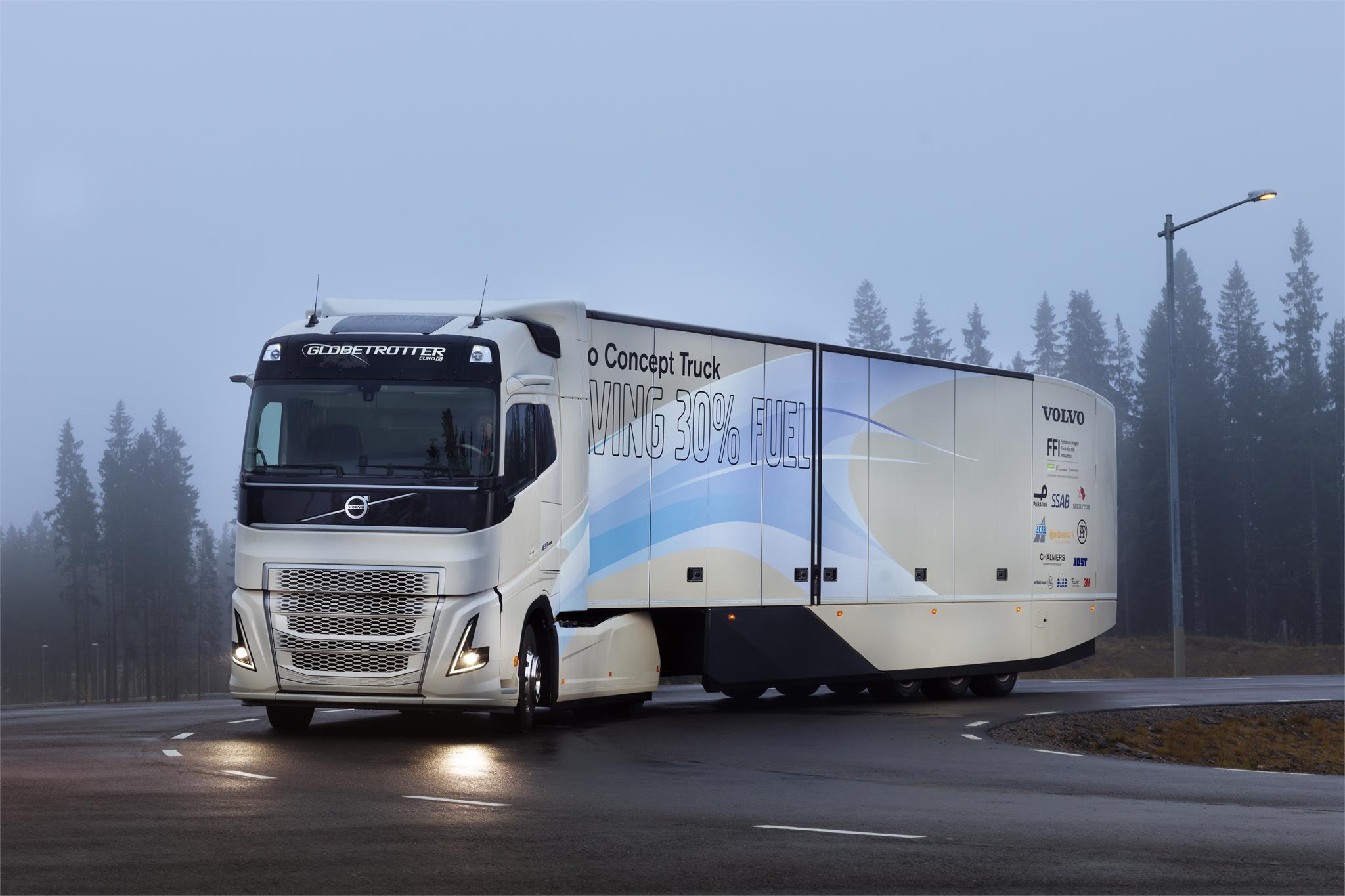 Volvo Hybrid Concept Truck