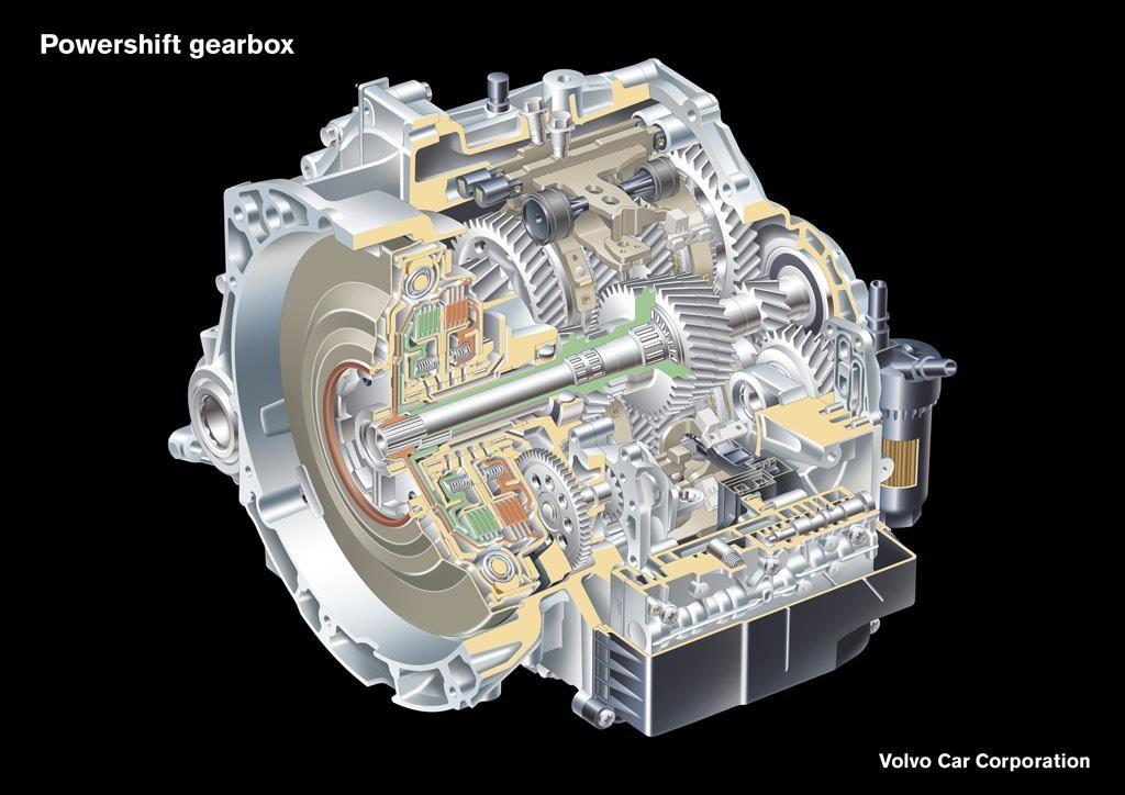 Volvo-Powershift-gearbox