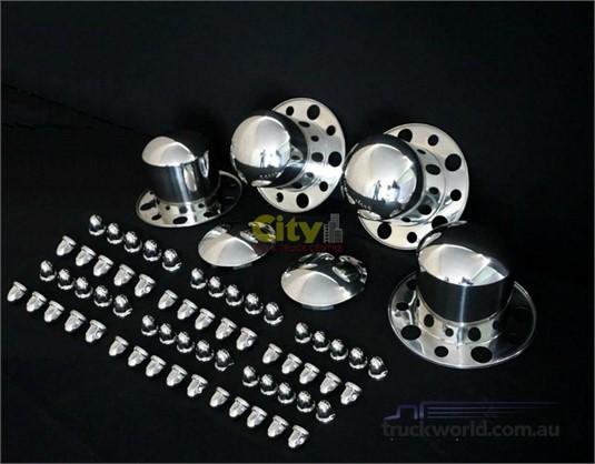 0 Accessories & Truck Parts Stainless Steel Wheel Covers - Parts & Accessories for Sale