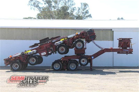 2008 Res Widening Dolly Neck Low Loader Semi Trailer Sales - Trailers for Sale