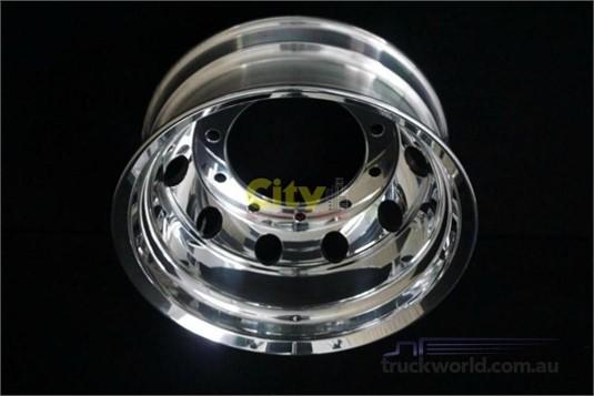 0 Alloy Rims 10/335 8.25x22.5 Polished Drive Alloy Rim - Truckworld.com.au - Parts & Accessories for Sale