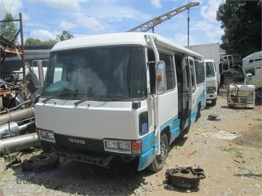 Toyota Coaster Bus - Wrecking Sales in Queensland, Australia