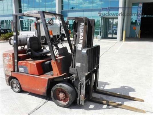 1950 Nissan Forklift Forklift forklift for sale Slattery Auctions Brisbane